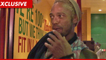 Gary Dourdan -- Arrested for Felony Battery