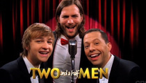 New 'Two and a Half Men' Opener -- Ashton 'Sings' Theme!