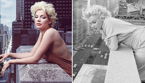 Michelle Williams Transforms Into Marilyn Monroe