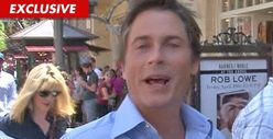 Rob Lowe -- Doggy-Style Rescue Mission
