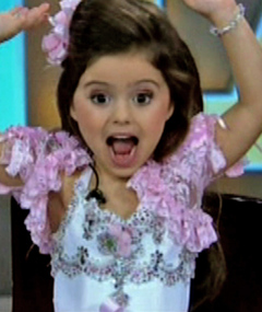 &quot;Toddlers &amp; Tiaras&quot; Star Goes Wild on Live TV