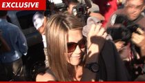 Jennifer Aniston -- Photog Swarm Is Crippling Neighborhood