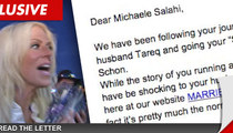 Michaele Salahi -- Offered Job at Website for Cheaters