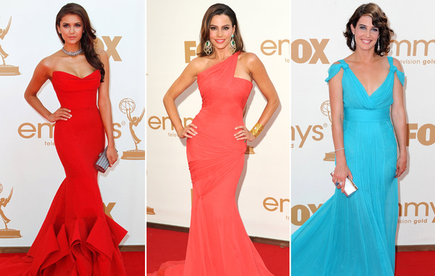 2011 Emmy Awards: The Best Dressed Stars