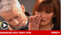 Anderson Cooper Chokes Up Over Brother's Suicide