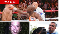 TMZ Live 9/19/11: Floyd Mayweather Knockout -- Cheap Shot ... But Fair