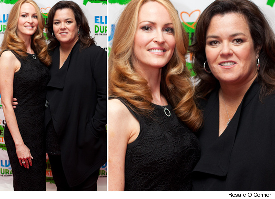 Rosie ODonnell and Michelle Rounds