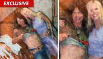 Michaele Salahi -- Backstage Shenanigans With Steven Tyler