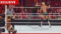 Hugh Jackman WWE Punch Injury ... Totally Fake!