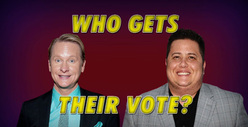 Carson Kressley vs. Chaz Bono -- Who Gets the GLBT Vote?