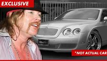 Axl Rose to Pony Up Tens of Thousands for Battered Bentley