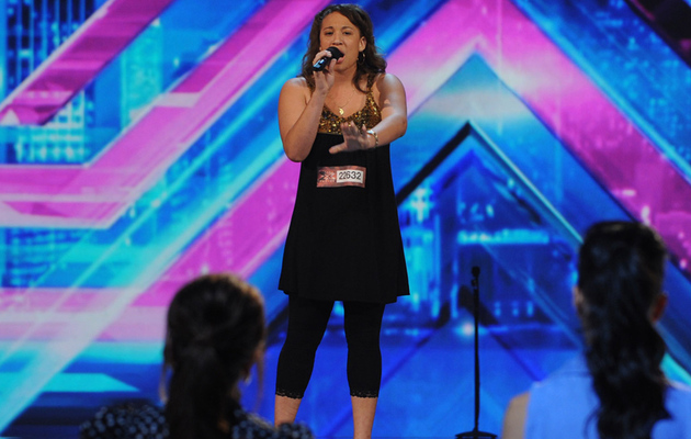 """X Factor"" Auditions: Melanie Amaro Wows Crowd"