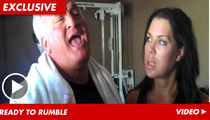 Chyna -- Going Hardcore with Joey Buttafuoco ... in the Gym