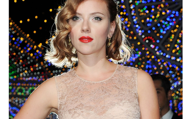 Scarlett Johansson's First Public Appearance Since Scandal