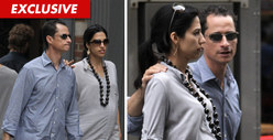 Anthony Weiner's Wife -- She Can Still Stomach Him