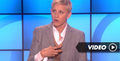 Ellen DeGeneres: Thanks For Caring, TMZ!!