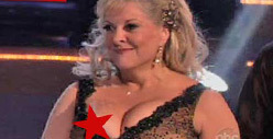 Nancy Grace -- That Was NOT My Nipple on &#039;Dancing&#039; 