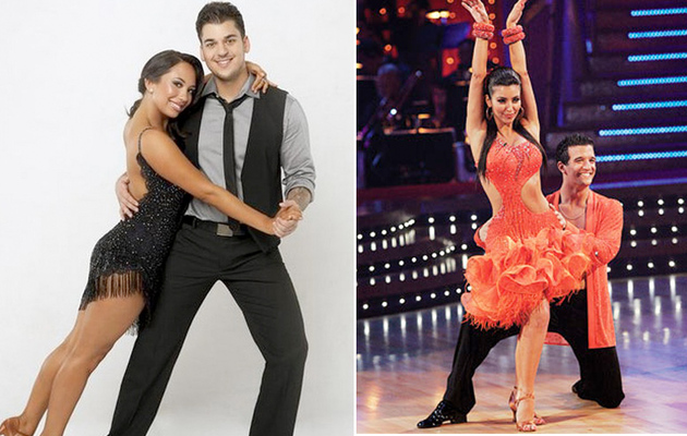 Dancing with the Stars: Is Rob Better Than Kim Kardashian?