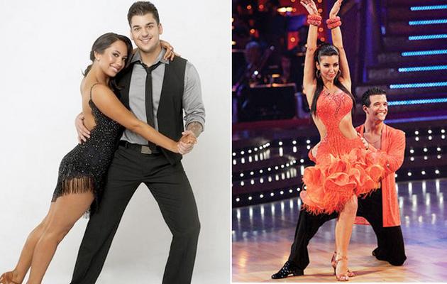 Dancing with the Stars: Is Rob Better Than Kim Kardashian?