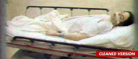Michael Jackson death photo