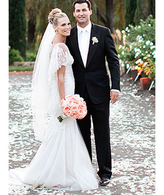Molly Sims: See Her Gorgeous Wedding Dress