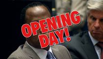 Dr. Conrad Murray Trial -- The Opening Day Musical