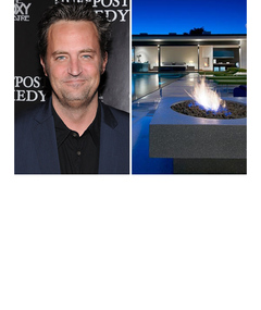 Matthew Perry's Awesome New Hollywood Home
