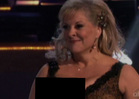 "Nancy Grace -- Nip Slip Cover Up on ""Dancing"