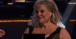 Nancy Grace -- Nip Slip Cover Up on &quot;Dancing With the Stars&quot;?