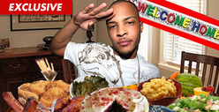 T.I.'s First Day of Freedom -- Bring on the Southern FEAST!!!