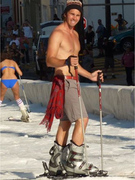 &quot;Bachelor&quot; Ben Flajnik: The Bizarre, Shirtless Ski Date