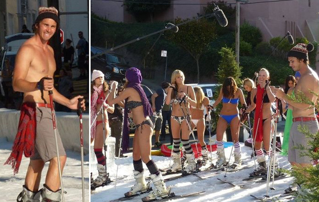 """Bachelor"" Ben Flajnik: The Bizarre, Shirtless Ski Date"