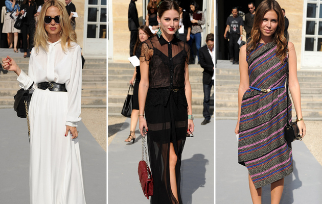 Celebs Show Off Their Style at Paris Fashion Week