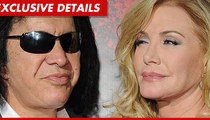 Gene Simmons & Shannon Tweed -- Married