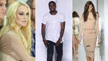 Kanye West Debuts Fashion Line -- See the A-list Guests and Sexy Clothes!