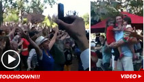 Steve Young -- Wife Gives NFL Legend Birthday FLASH ... Mob!