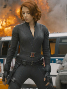 "Official ""Avengers"" Photos: ScarJo, Evans & More In Action!"