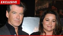 Pierce Brosnan's Wife Sues -- A Restaurant Hurt Me Bad!