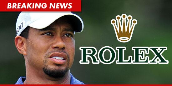 Tiger Woods Rolex