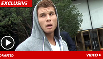 NBA Star Blake Griffin -- Screw the Lockout, I'll Play Hoops with TMZ Camera Guy