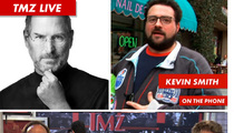 TMZ Live: Steve Jobs' Death ... and Movie Talk with Kevin Smith