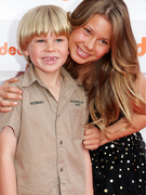Bindi &amp; Bob Irwin Hit Red Carpet in Australia