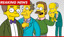 'Simpsons' Star Harry Shearer -- I'll Take a Pay Cut, But I Want ...