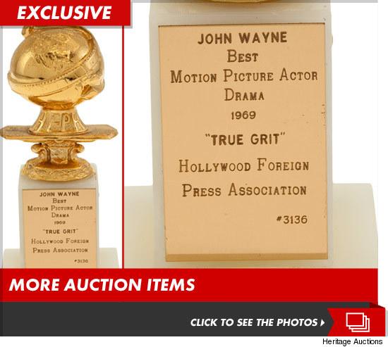 John Wayne Golden Globe