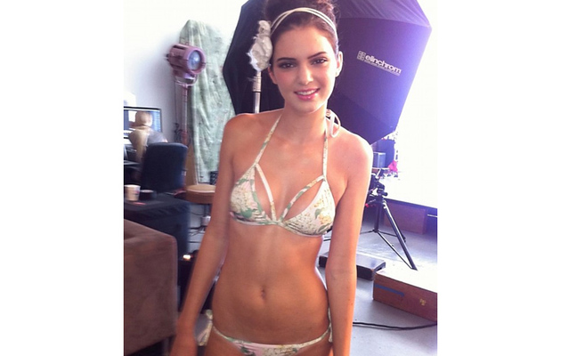 Kendall Jenner Models Bikini for Aussie Swim Label