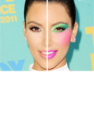 Celebrity Makeup: Natural or Drastic?