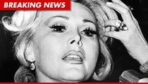 Zsa Zsa Gabor Hospitalized Again