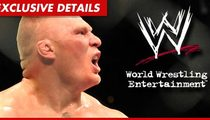 Brock Lesnar Signs New Deal with WWE