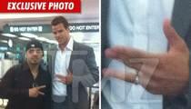 Kris Humphries -- Wedding Ring DISASTER Averted