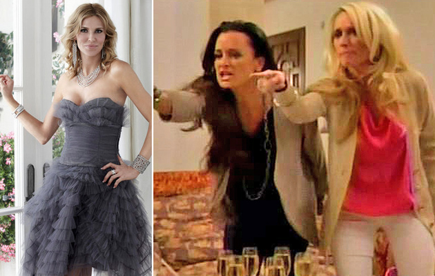 """Real Housewives"" Catfight: Brandi Glanville vs. The Richards Sisters"